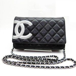 Chanel Wallet on Chain Cambon Quilted Black
